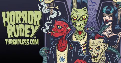 Horror Rudey shop at threadless