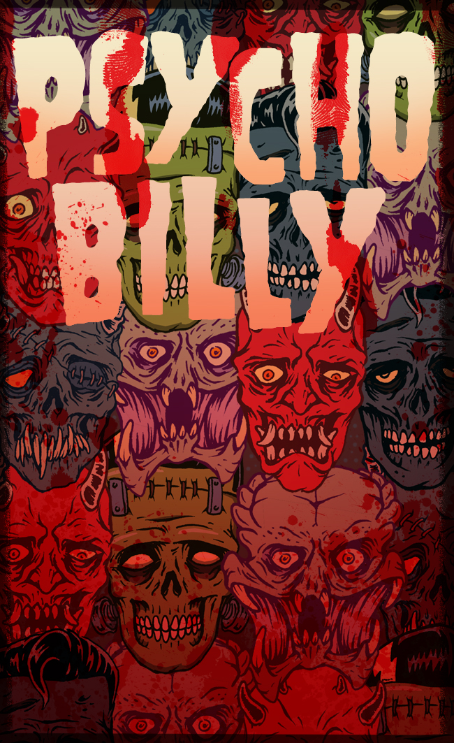 PSYCHOBILLY Monsters by HorrorRudey