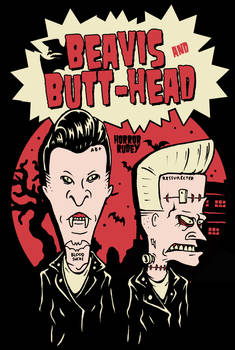 PSYCHOBILLY BEAVIS and BUTTHEAD