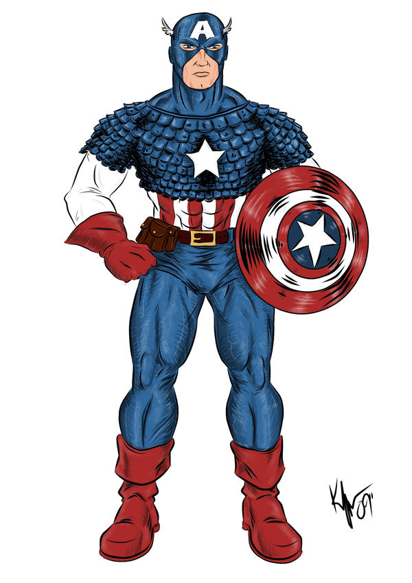 captain_america_color_by_kaufee
