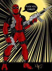 The Poetic Deadpool by Kaufee
