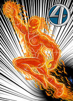 -The Human Torch- by Kaufee