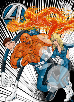 The Fantastic Four by Kaufee
