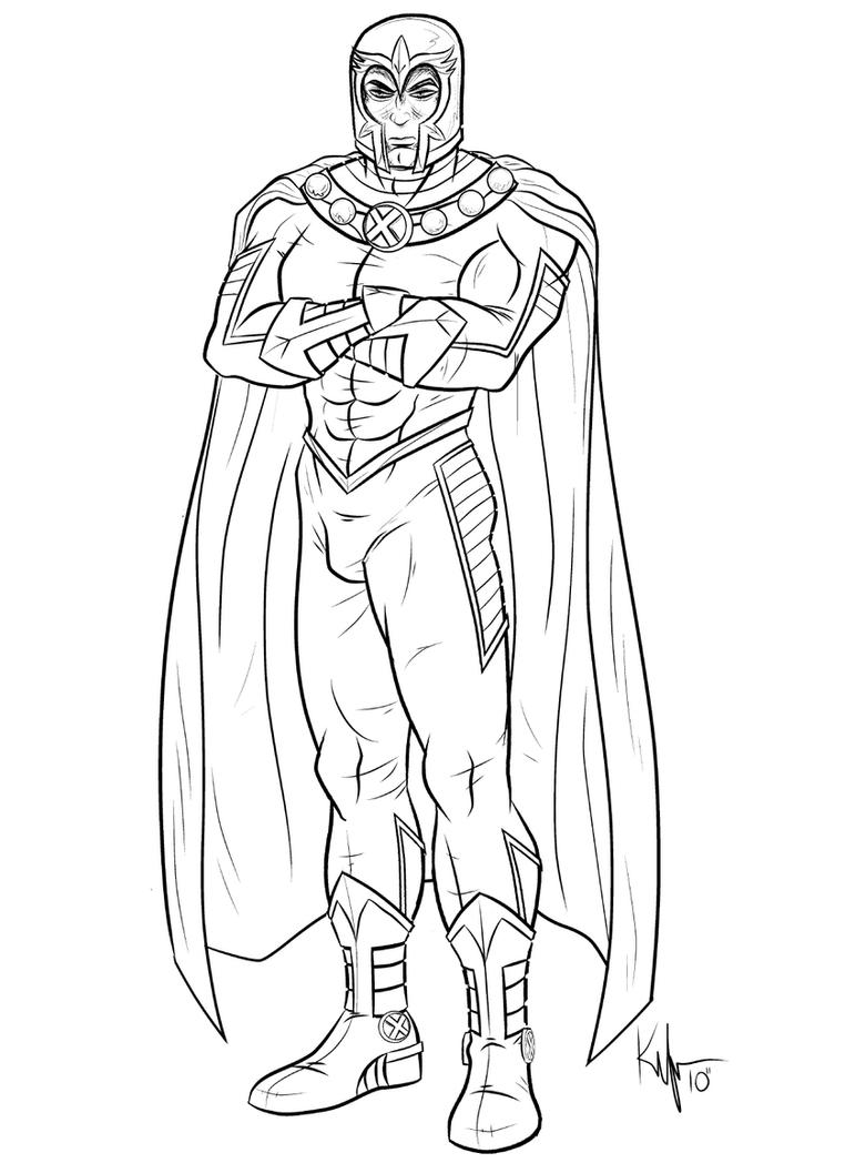 Free coloring pages x men - Astonishing Magneto By Kaufee On Deviantart Men Storm Coloring Coloring Pages