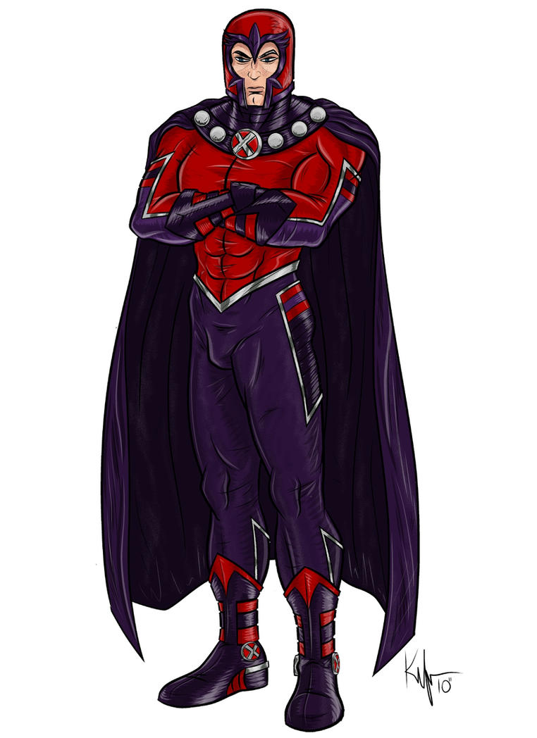 -Astonishing Magneto- by Kaufee