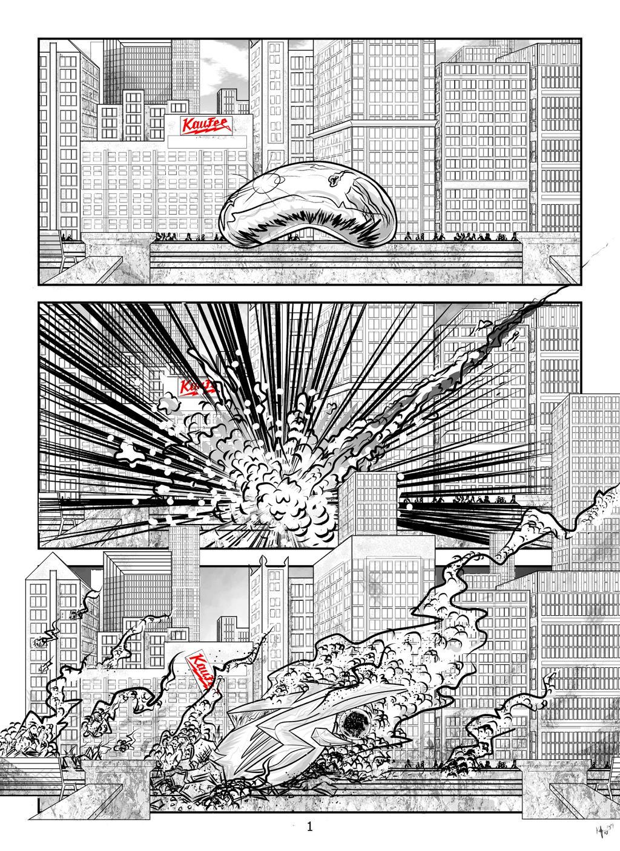Superior Origins pg.1 by Kaufee
