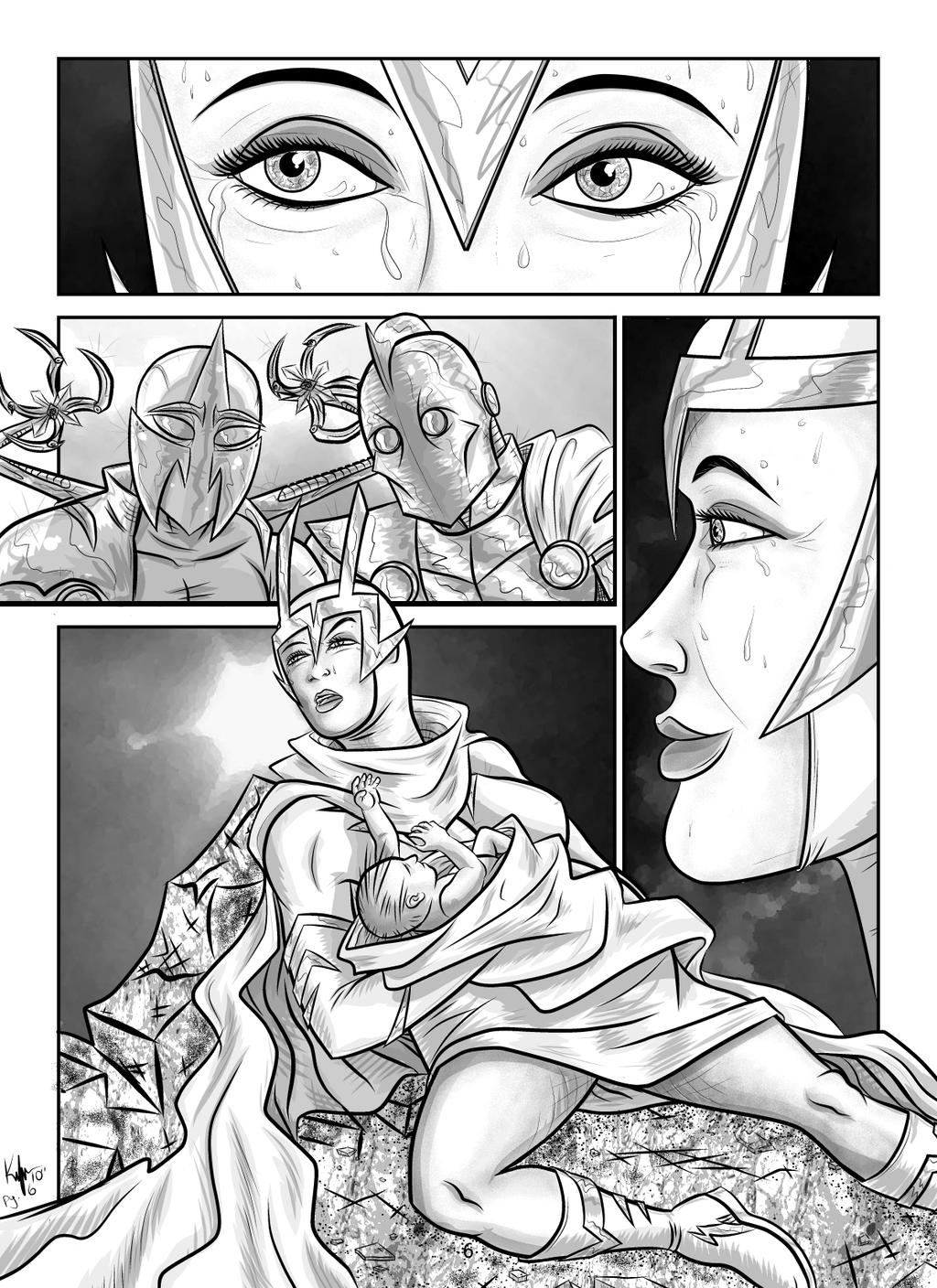 Superior Origins pg.6 by Kaufee