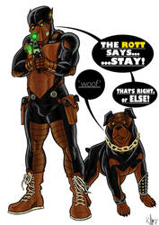The Rottweiler by Kaufee