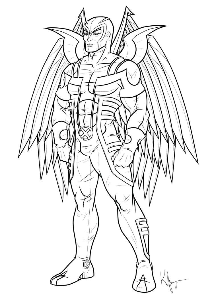 Uncanny Archangel By Kaufee