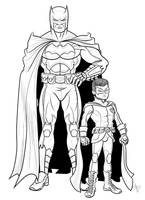 The New 52 Batman and Robin by Kaufee