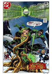 Green Lantern #106 Cover Recreation by Kaufee