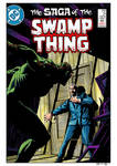 Swamp Thing #21 Cover Recreation