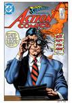 Action Comics #571 Cover Recreation