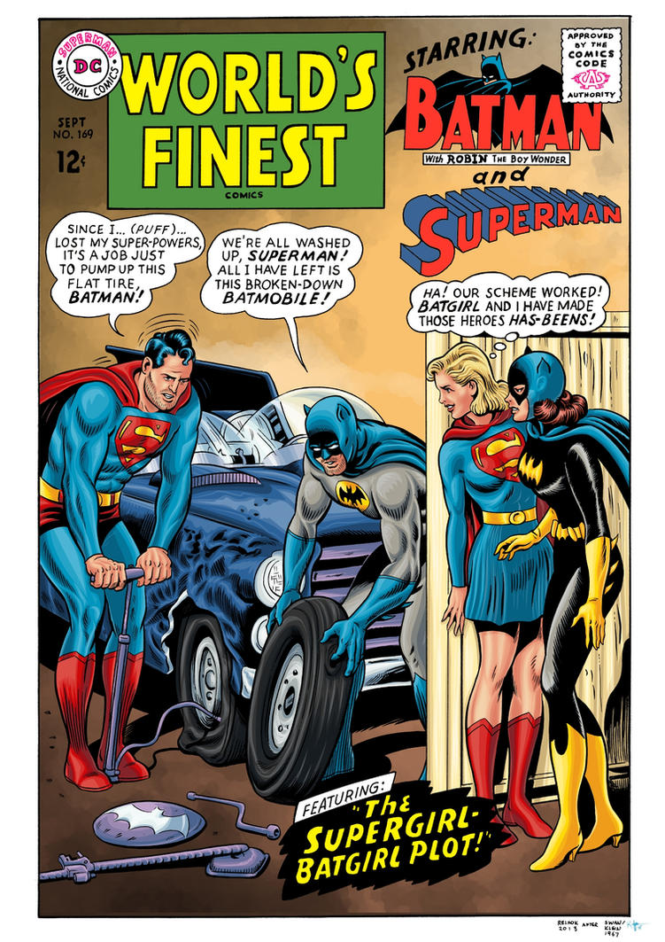 World's Finest #169 Cover Recreation by Kaufee