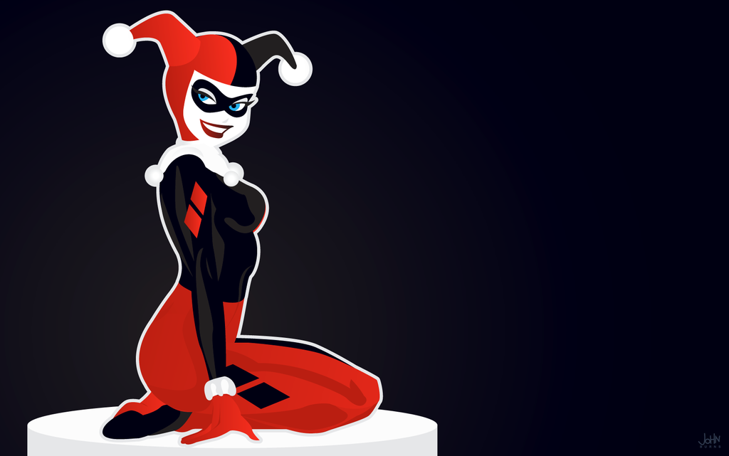 Harley quinn and search on pinterest for Harley quinn wallpaper