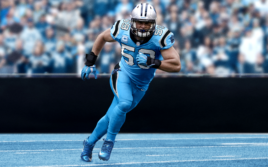 Luke Kuechly Wallpaper By Jb Online