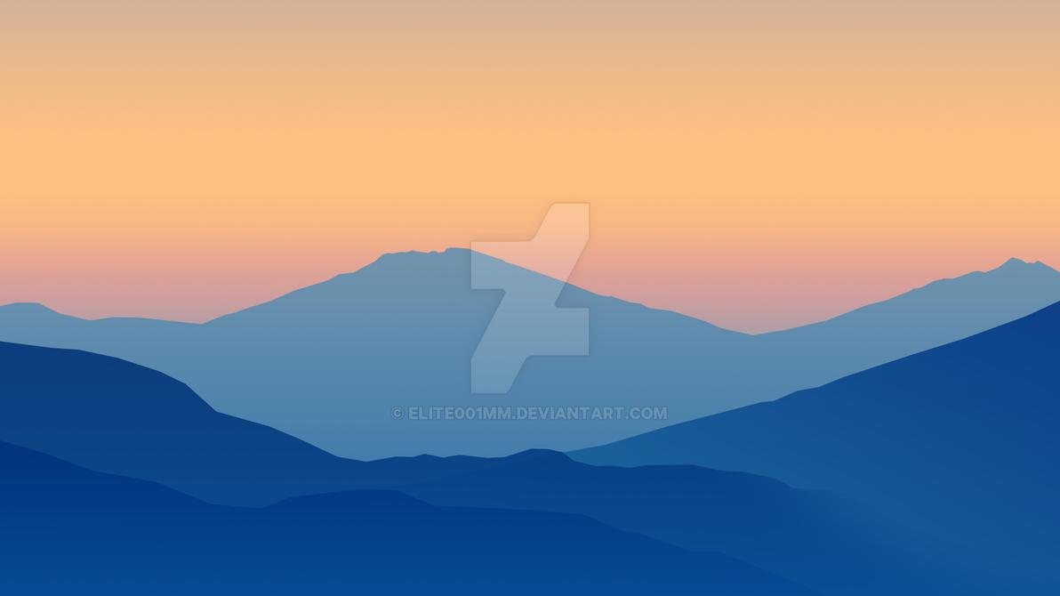 Most Inspiring Wallpaper Mountain Minimalistic - minimalistic_gradient_mountains_wallpaper_8k_by_elite001mm-d9qatxl  Picture_164761.jpg