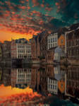 Sunset in Gent