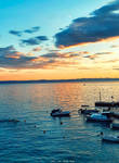 Sunset Makarska Croatia