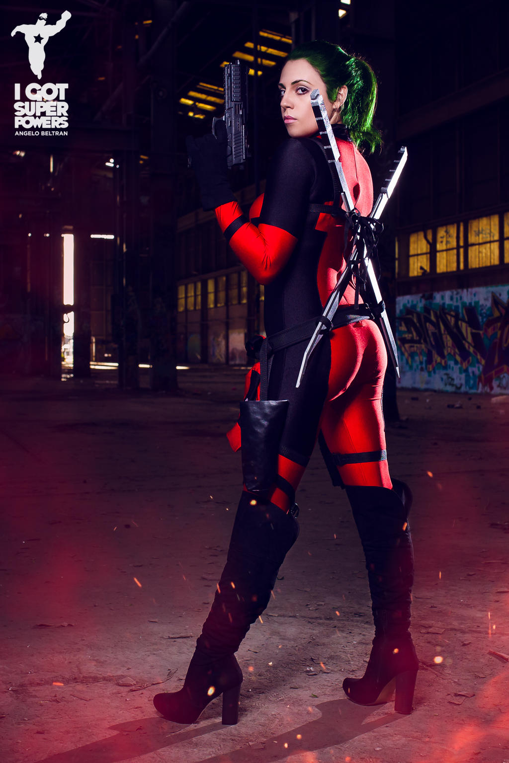 Lady Deadpool by Rachel Kendall by igotsuperpowers