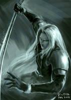 Sephiroth Fanart by victortienyu