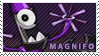 Magnifo stamp by pervyspotracoonplz
