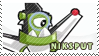 Niksput stamp by pervyspotracoonplz