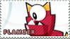 Flamzer stamp by pervyspotracoonplz