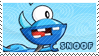 Snoof stamp