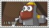 Jinky stamp