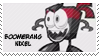 Boomerang Nixel stamp by pervyspotracoonplz