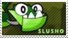 Slusho stamp by pervyspotracoonplz
