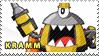 Kramm Stamp by pervyspotracoonplz