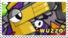 Wuzzo stamp