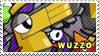 Wuzzo stamp by pervyspotracoonplz