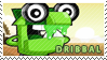 Dribbal stamp by pervyspotracoonplz