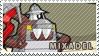 Mixadel stamp by pervyspotracoonplz