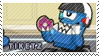 Tiketz stamp by pervyspotracoonplz