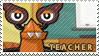 Teacher stamp by pervyspotracoonplz
