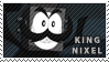 King Nixel stamp by pervyspotracoonplz