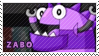 Zabo stamp by pervyspotracoonplz