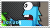 Scrud stamp by pervyspotracoonplz