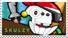 Skulzy stamp by pervyspotracoonplz