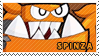 Spinza stamp by pervyspotracoonplz