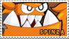 Spinza stamp by pervyspotracoonplz