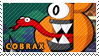Cobrax stamp by pervyspotracoonplz