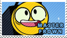 Unikitty! - Master Frown stamp by pervyspotracoonplz