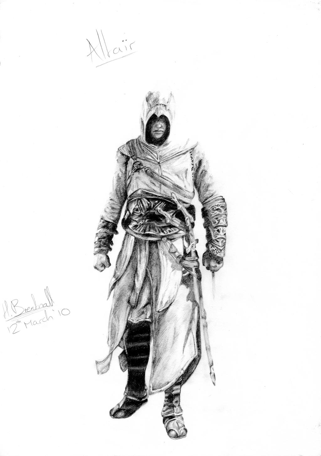 Uncategorized How To Draw Altair altair by panic bladesage on deviantart bladesage