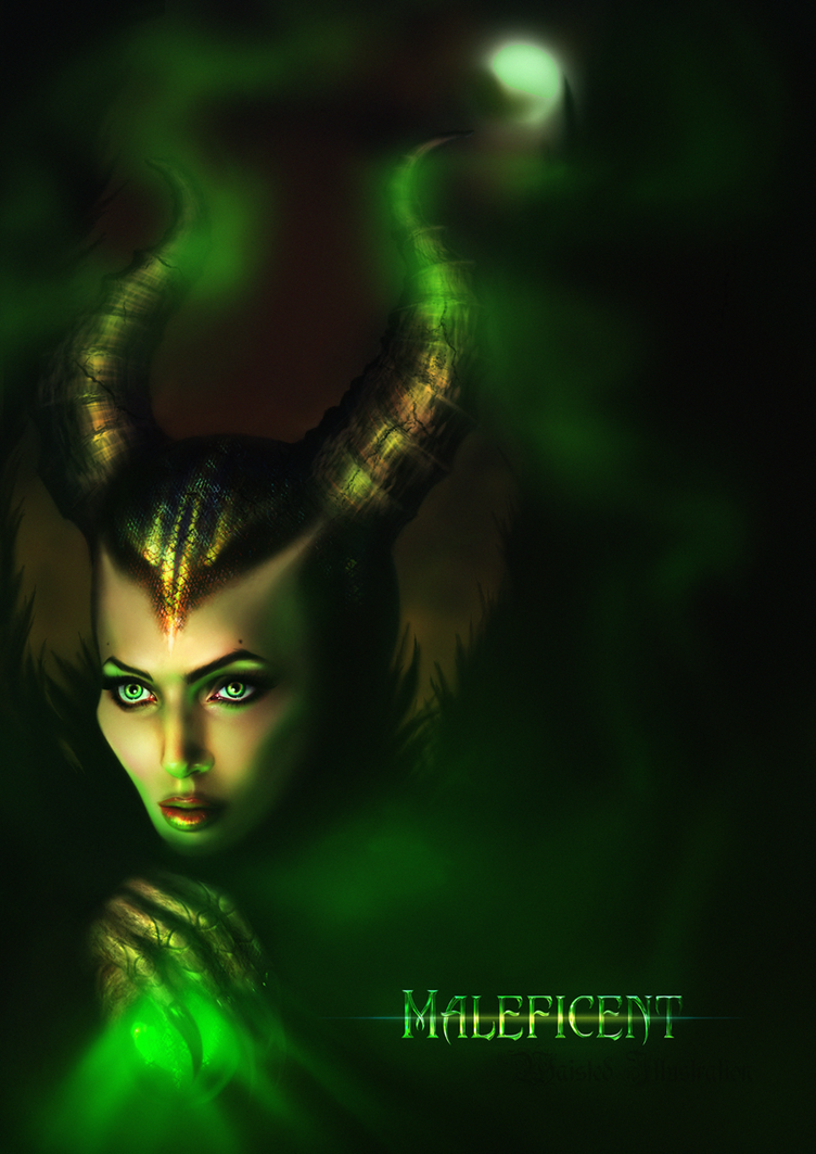 Maleficent by NuPhi