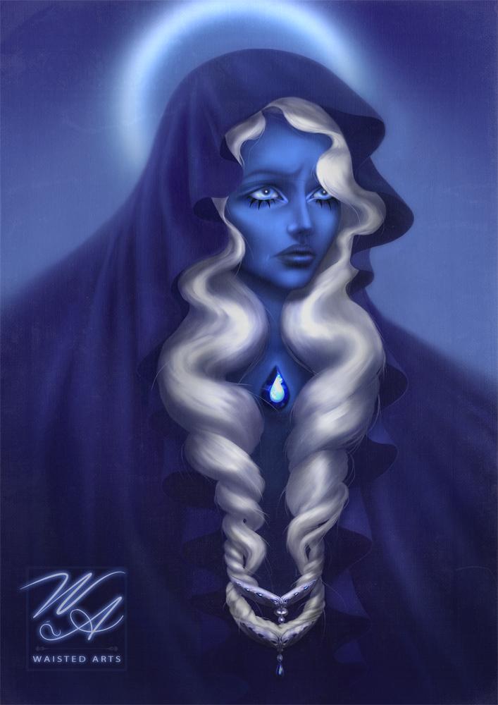 Blue Diamond by NuPhi